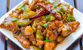 Indian-Style Chinese Chili Chicken