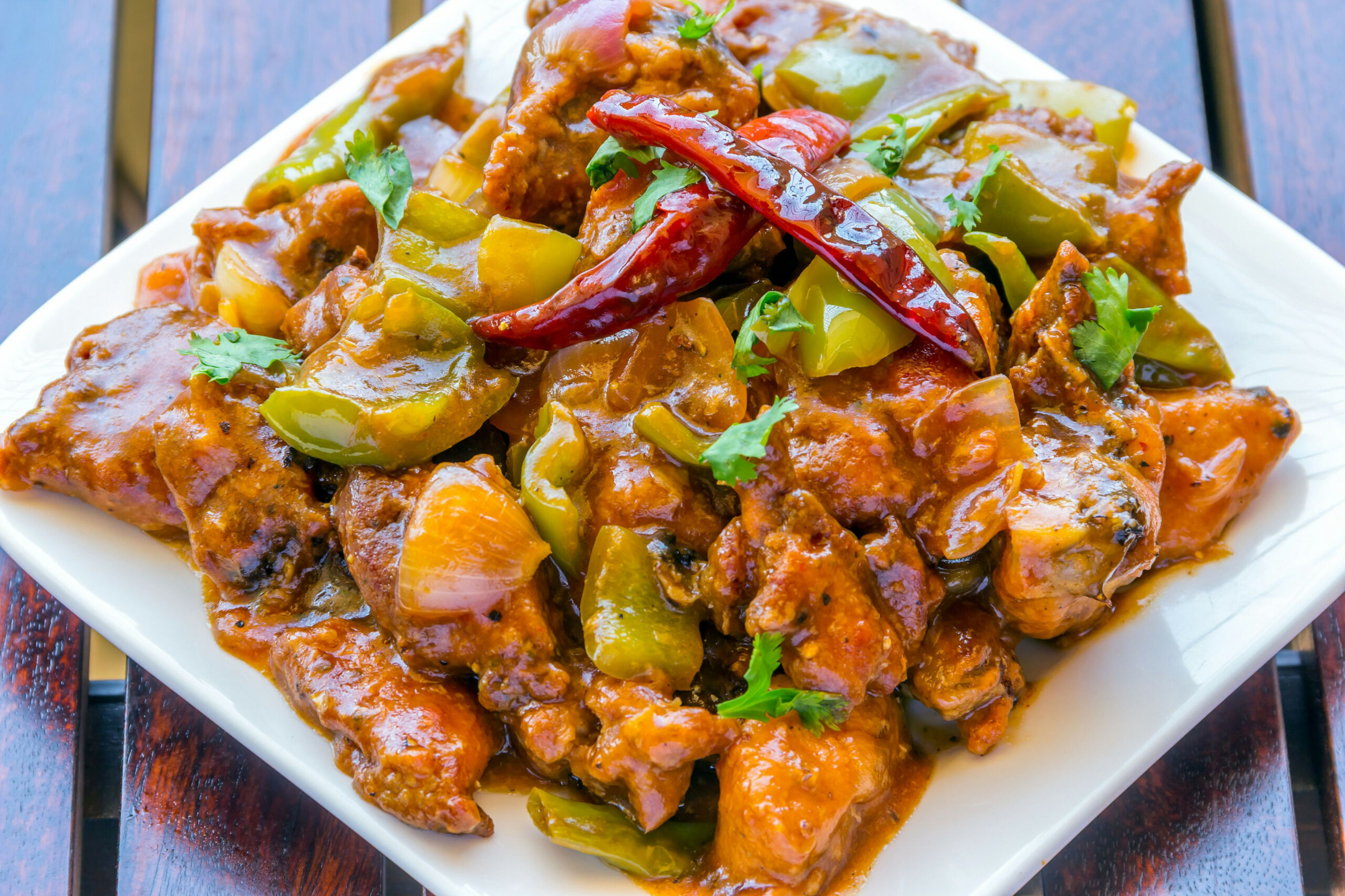 Indian-Style Chinese Chili Chicken - chicken recipes chinese