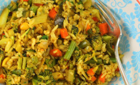 Indian Style Vegetable Fried Rice – Recipes With Rice Vegetarian
