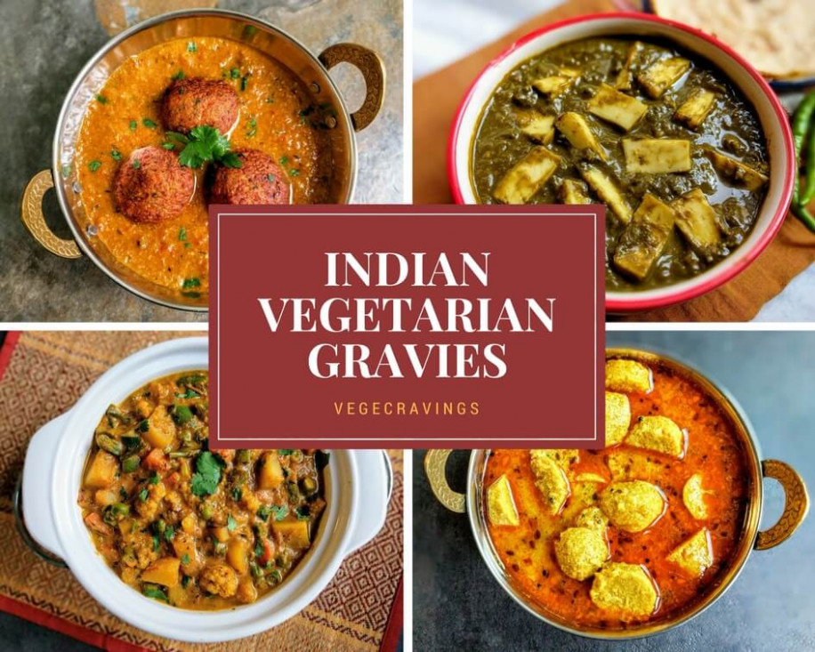 Indian Vegetarian Curries | A Collection Of 29 Indian ..