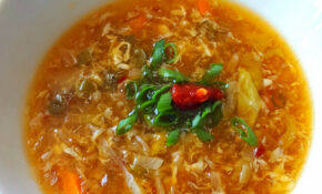 Indo Chinese Hot And Sour Soup Recipe – Goan Recipes – Recipe Vegetarian Hot And Sour Soup