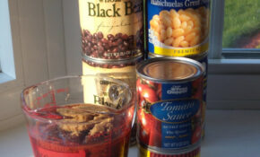Ingredients for (Vegetarian) Slow Cooker Tex-Mex Baked Beans