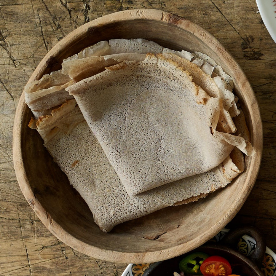 Injera (Ethiopian Flatbread) - ethiopian food recipes