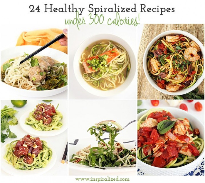 Inspiralized: 24 Healthy Spiralized Recipes Under 300 ..