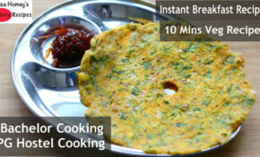Instant Breakfast Recipes - 10 Mins Bachelor PG Hostel ...