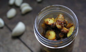Instant Garlic Pickle – Healthy Indian Recipes Vegetarian