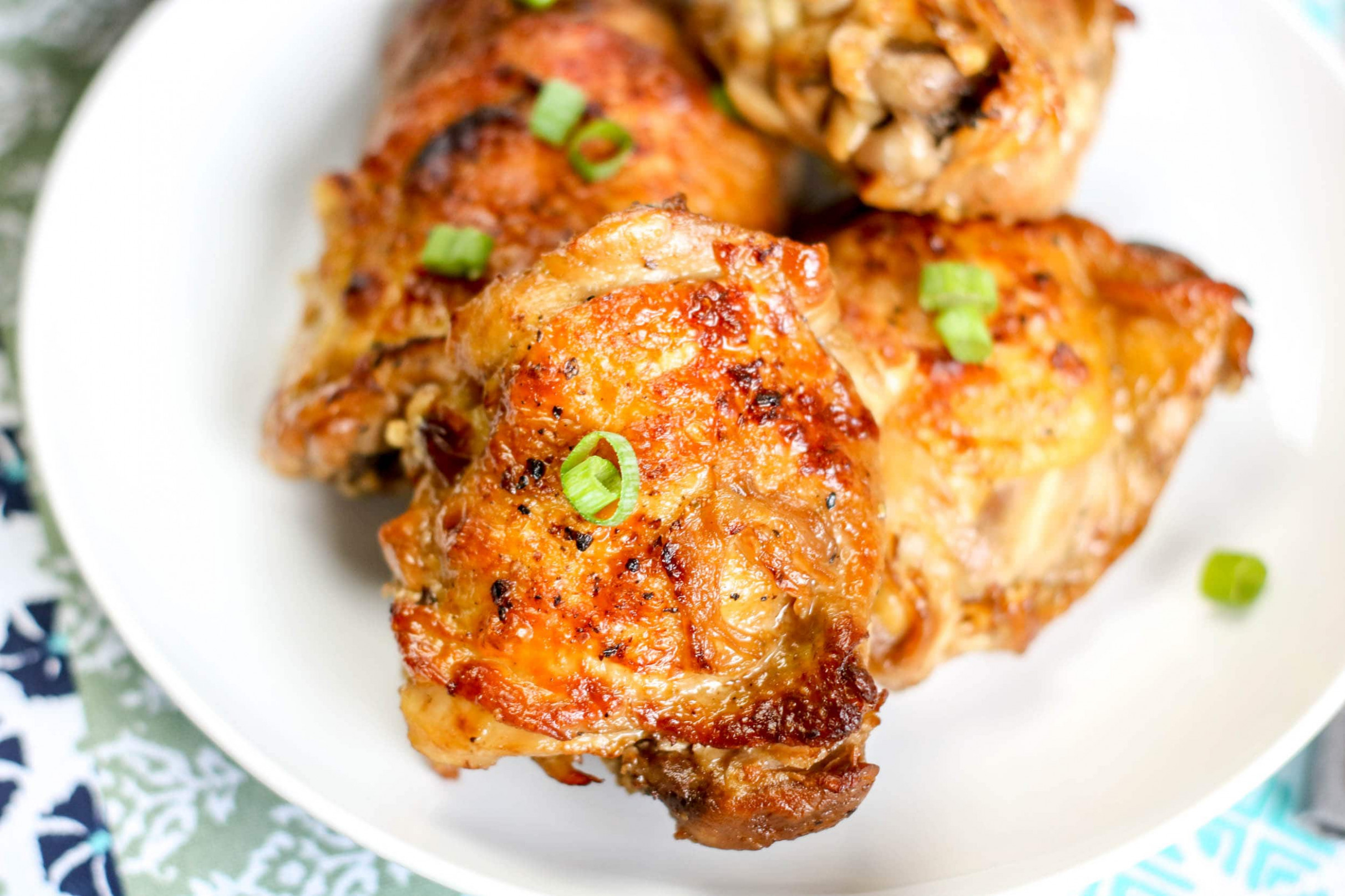 Instant Pot Adobo Chicken Thighs - I Don't Have Time For That! - Recipes Instant Pot Chicken Thighs