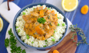 Instant Pot Apricot Chicken Recipe With Rice | 100 In 10 ..