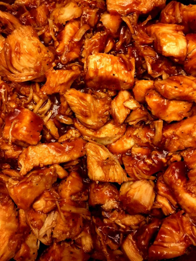 Instant Pot BBQ Chicken Recipe With Chicken Breasts Or Thighs - pressure cooker recipes chicken breast
