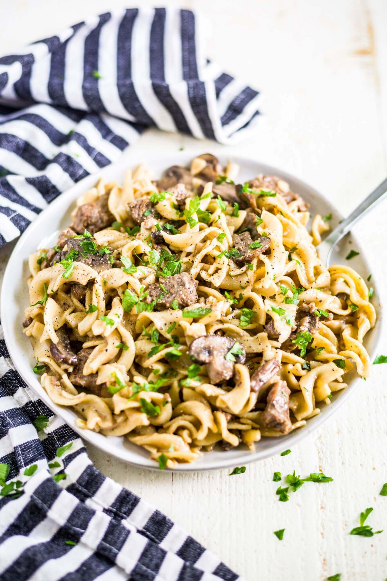 Instant Pot Beef Stroganoff - Healthy Recipes Instant Pot