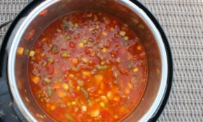 Instant Pot Beef Vegetable Soup Recipe – Eating On A Dime – Easy Vegetable Instant Pot Recipes