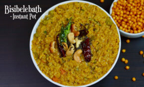INSTANT POT Bisibelebath|Hot Lentil Rice – Food Recipes Kannada