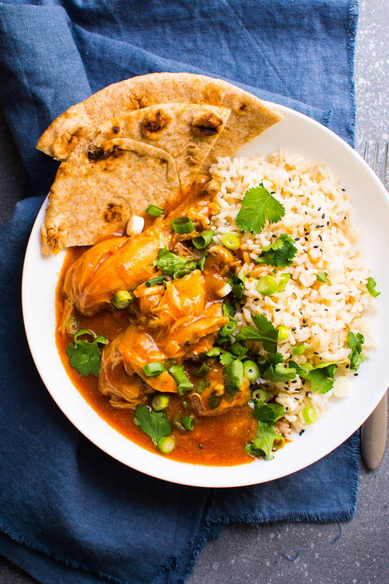 Instant Pot Butter Chicken - chicken recipes with coconut milk