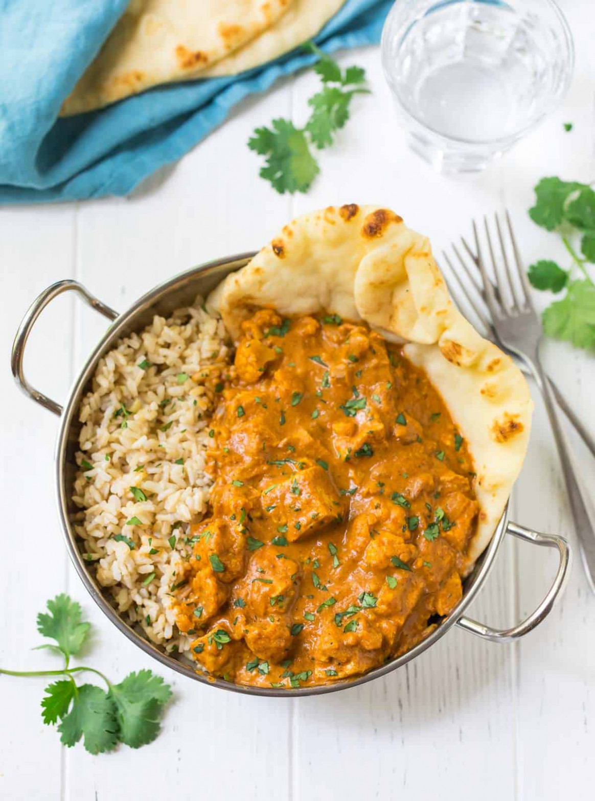 Instant Pot Butter Chicken - healthy recipes instant pot