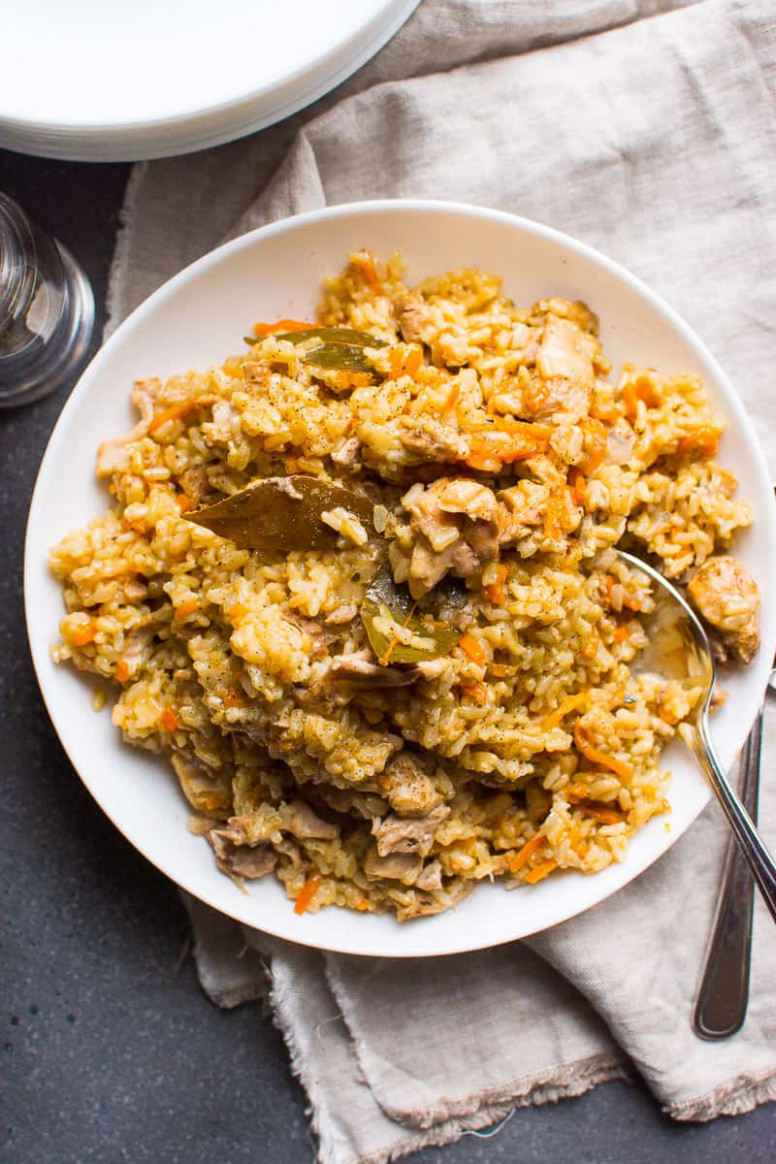 Instant Pot Chicken and Brown Rice Recipe - iFOODreal ..