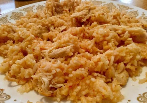 Instant Pot Chicken And Mexican Rice Recipe | Just A Pinch ..