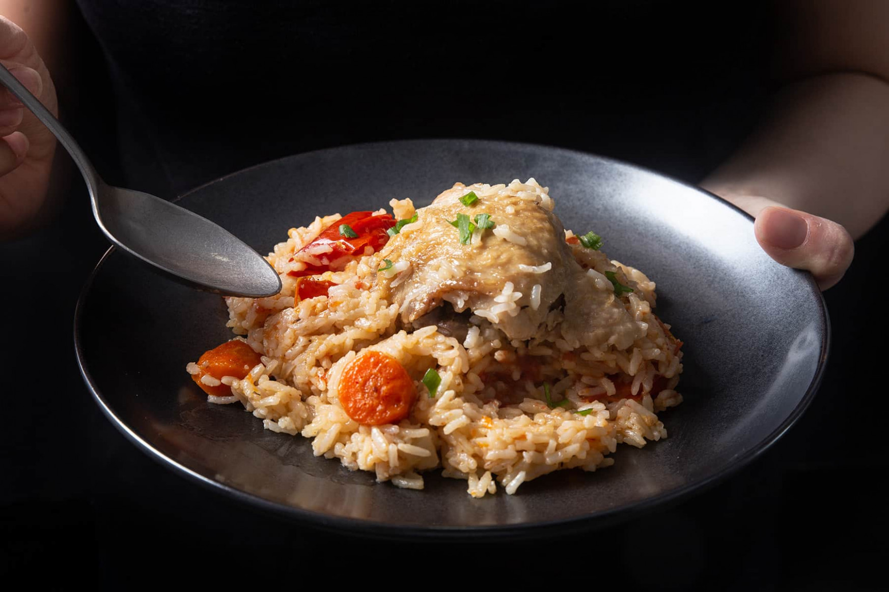 Instant Pot Chicken and Rice - chicken recipes instant pot