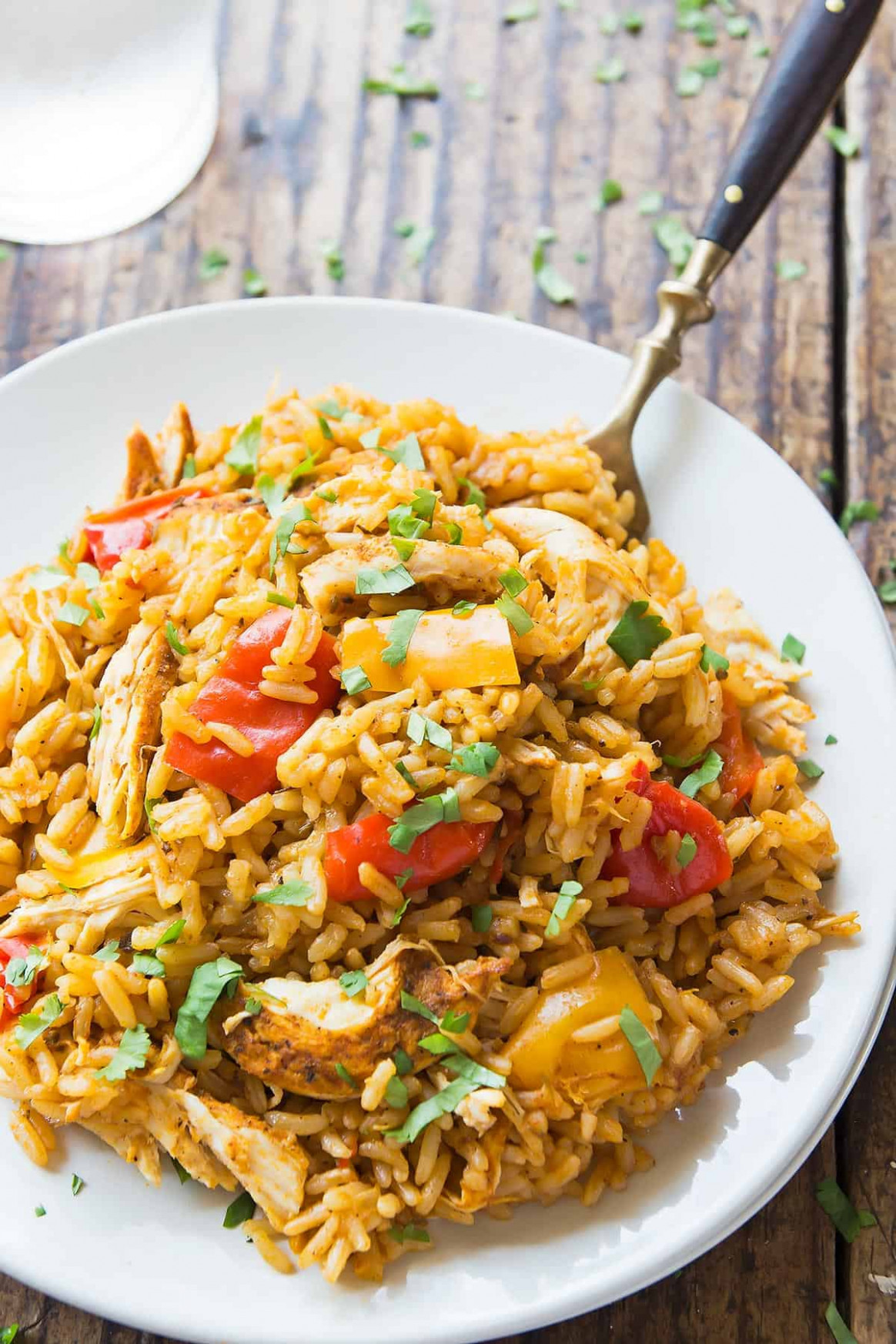 Instant Pot Chicken and Rice - Leelalicious - instant pot recipes chicken and rice