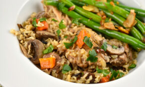 Instant Pot Chicken And Rice Recipe – 11 Points – LaaLoosh – Instant Pot Recipes Chicken And Rice