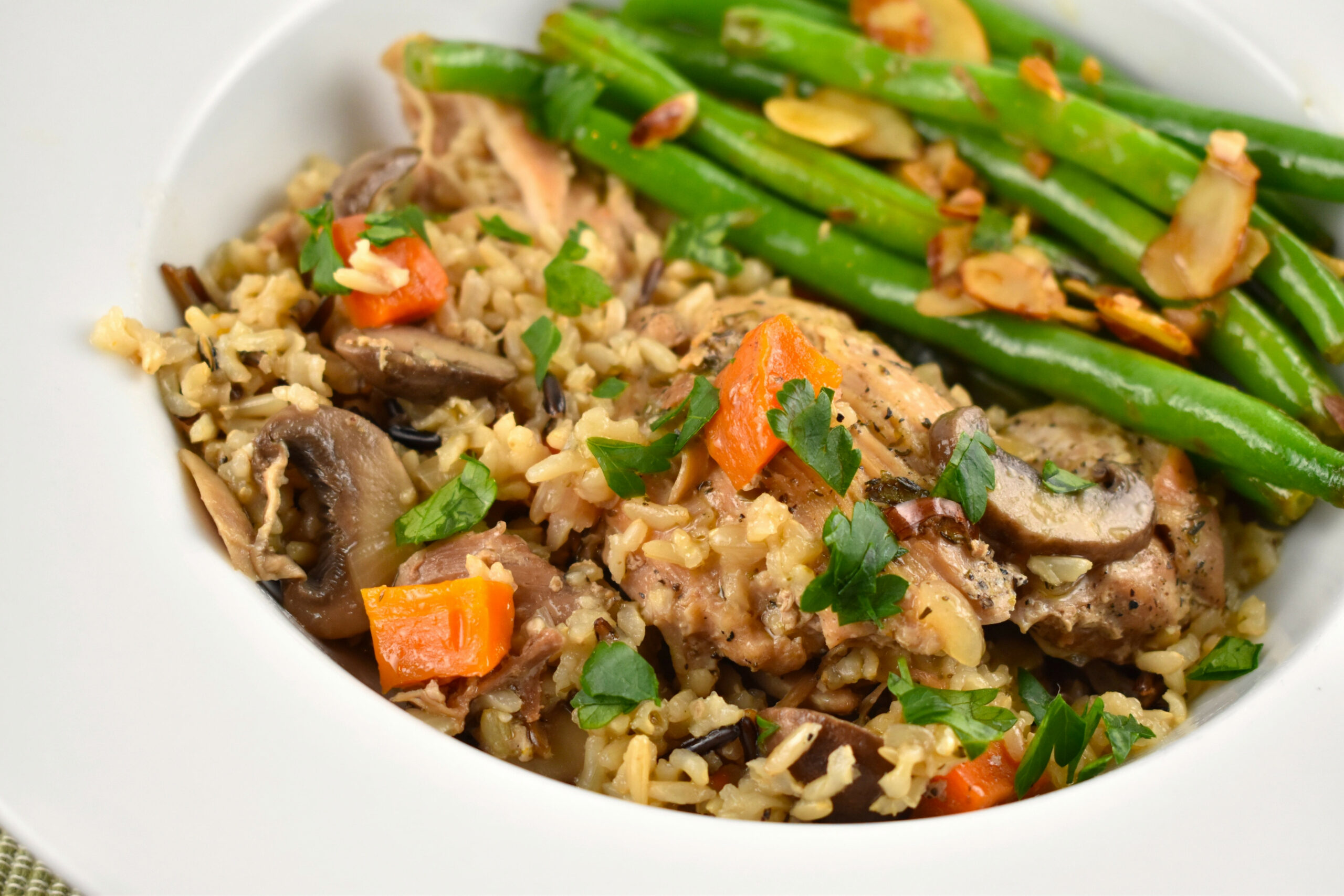 Instant Pot Chicken And Rice Recipe - 11 Points - LaaLoosh - Instant Pot Recipes Chicken And Rice