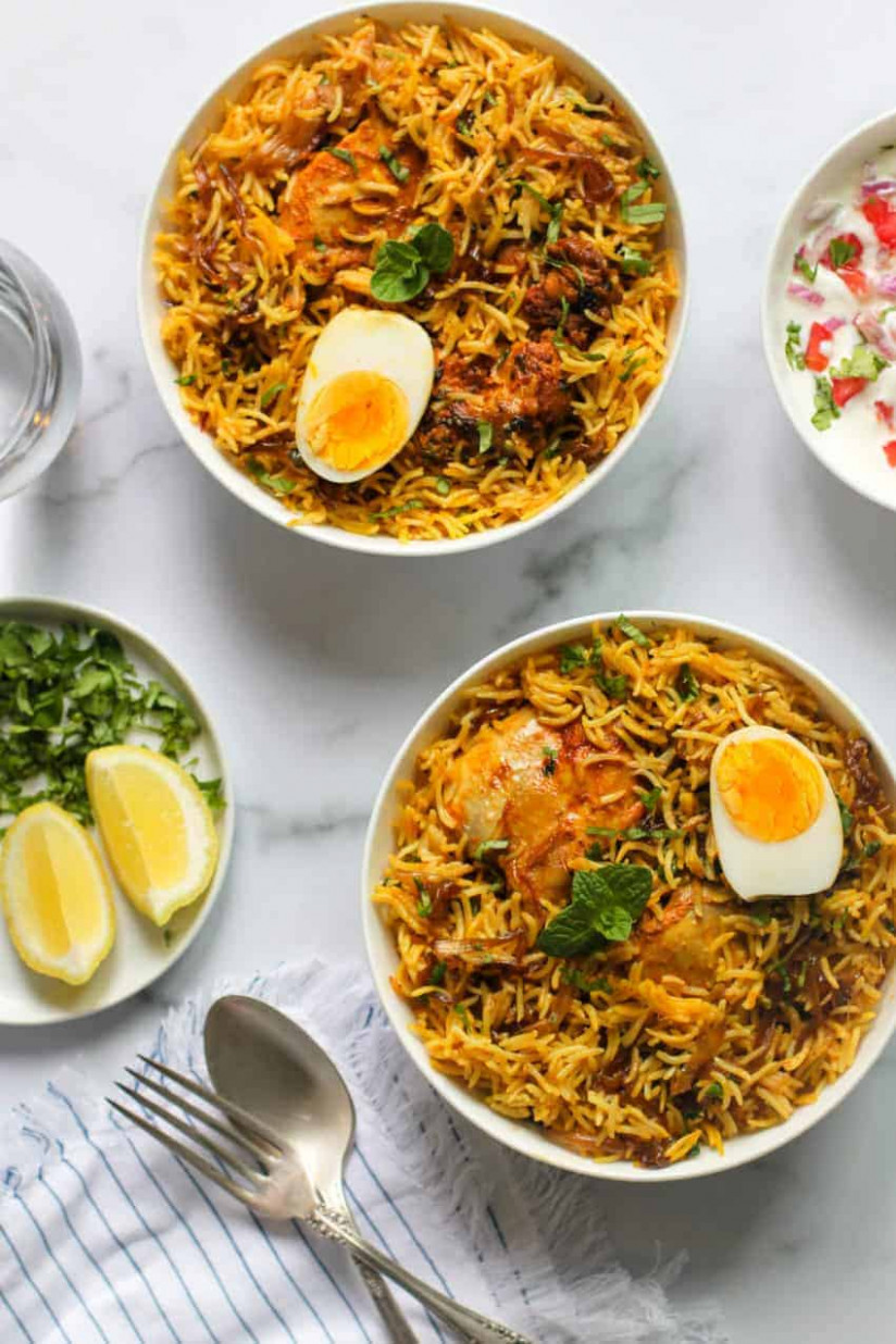 Instant Pot Chicken Biryani - Ministry Of Curry - Chicken Recipes Youtube In Hindi