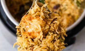 Instant Pot Chicken Biryani – One Pot Rice Recipes Vegetarian Indian