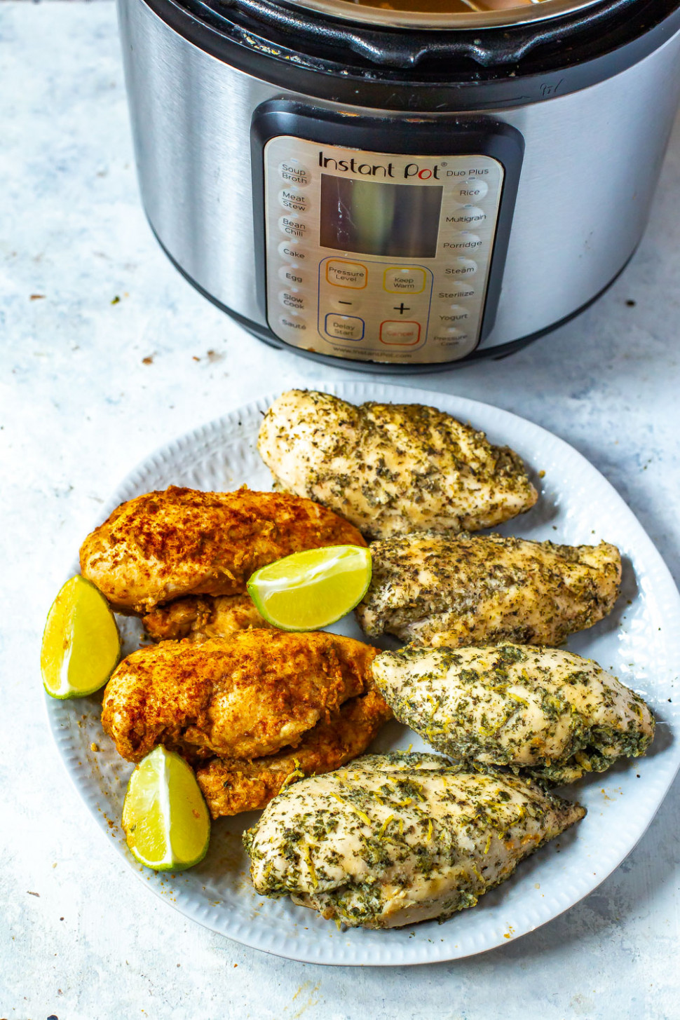 Instant Pot Chicken Breast (12 Ways!) - healthy instant pot recipes chicken