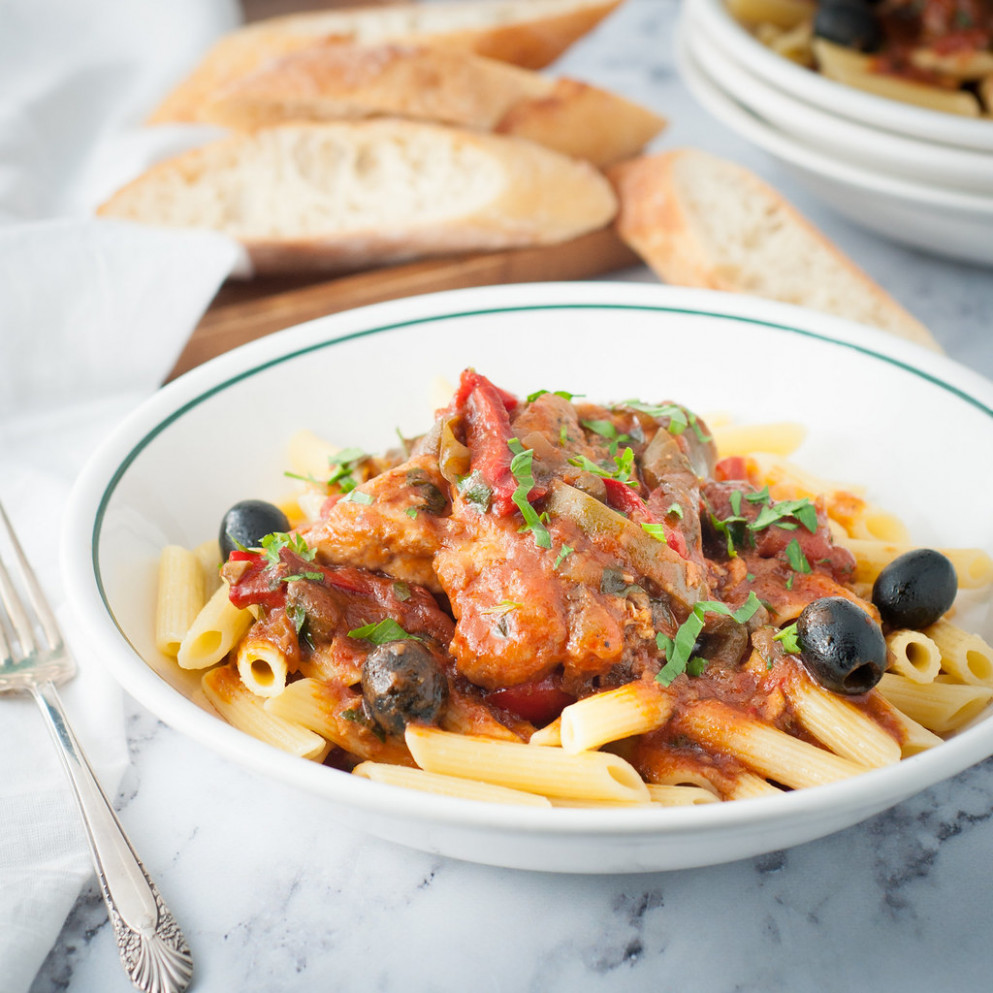 Instant Pot Chicken Cacciatore - chicken recipes quick