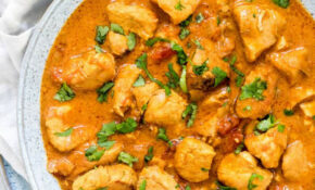 Instant Pot Chicken Curry + Video {Paleo, Keto, Low Carb ..