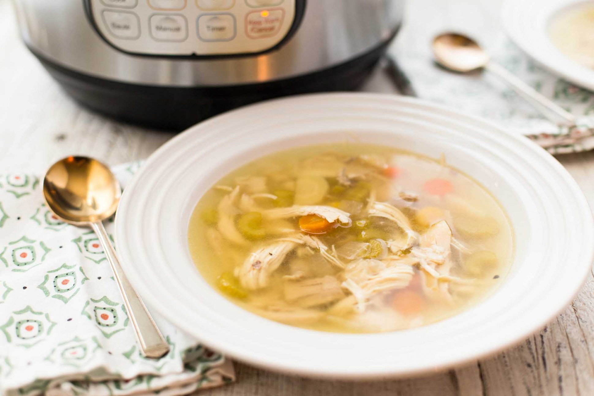 Instant Pot Chicken Soup - instant pot recipes chicken soup