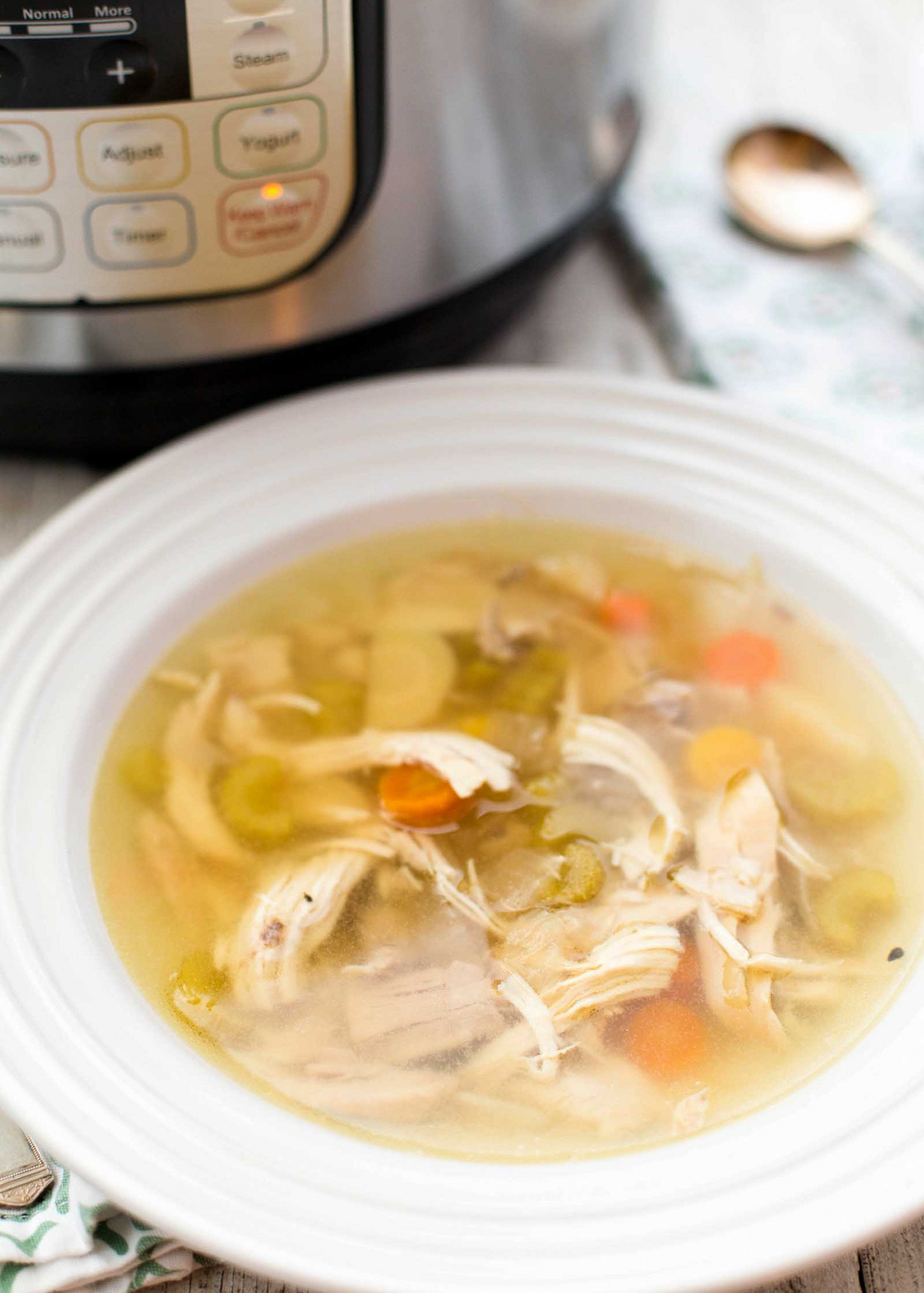 Instant Pot Chicken Soup - power pressure cooker xl chicken recipes