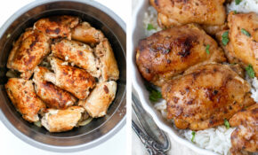Instant Pot Chicken Thighs (Fresh Or Frozen) – Momsdish – Pressure Cooker Xl Chicken Thigh Recipes