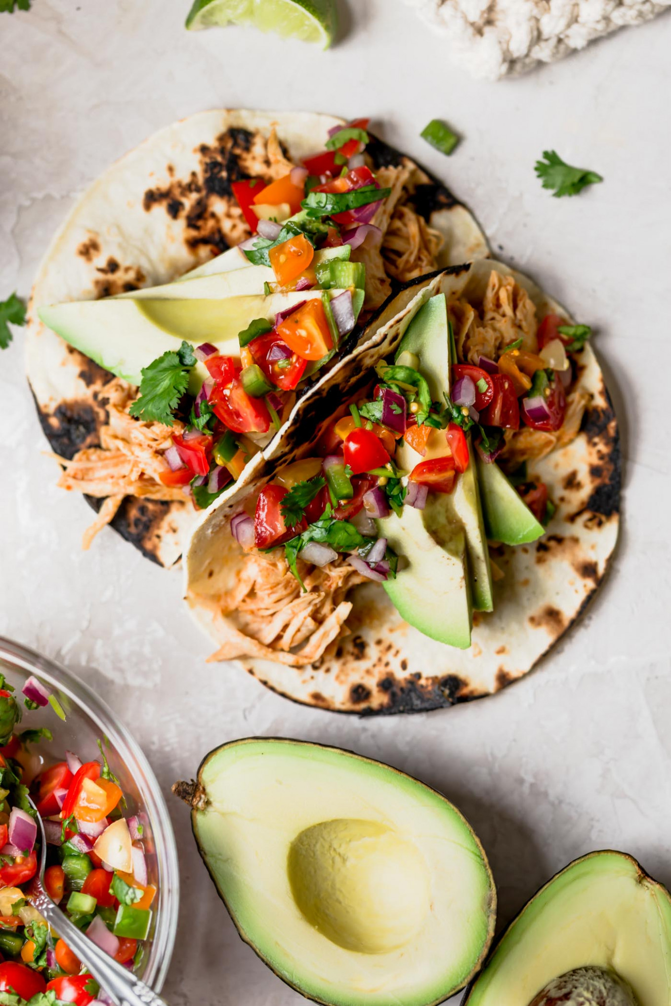 instant pot chipotle honey chicken tacos - taco recipes chicken