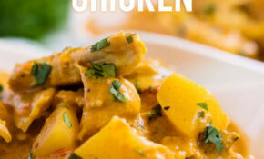 Instant Pot Coconut Curry Chicken recipe and video | Ashlee ...