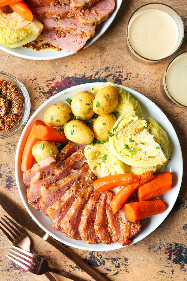 Instant Pot Corned Beef and Cabbage - recipes boiled dinner