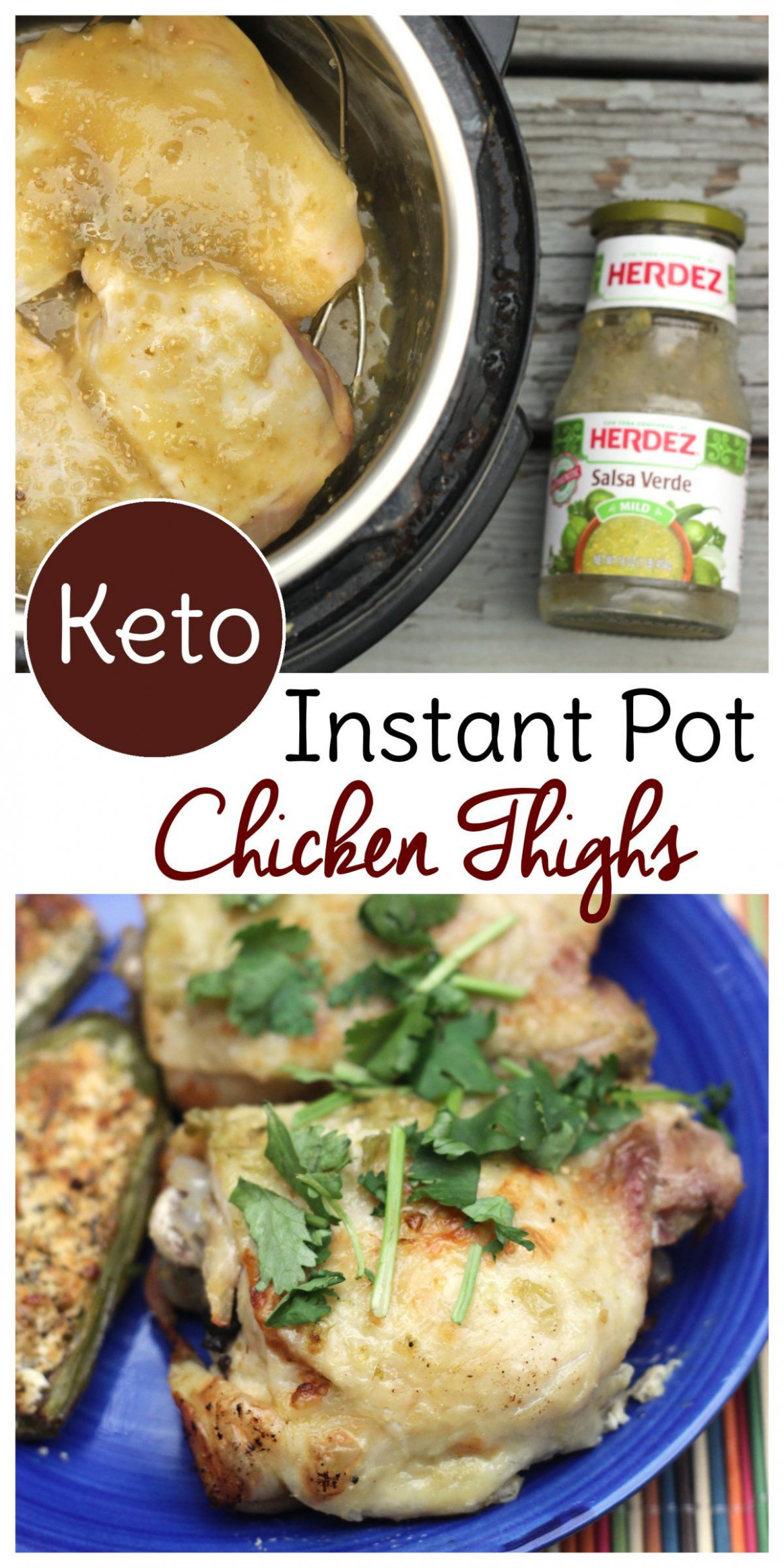 Instant Pot Frozen Chicken Thighs - instant pot recipes chicken thighs