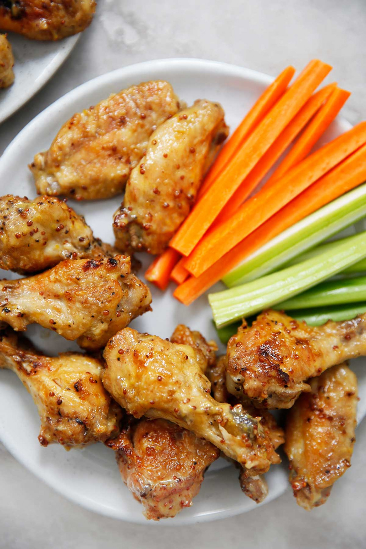 Instant Pot Honey Mustard Wings - recipes grilled chicken wings