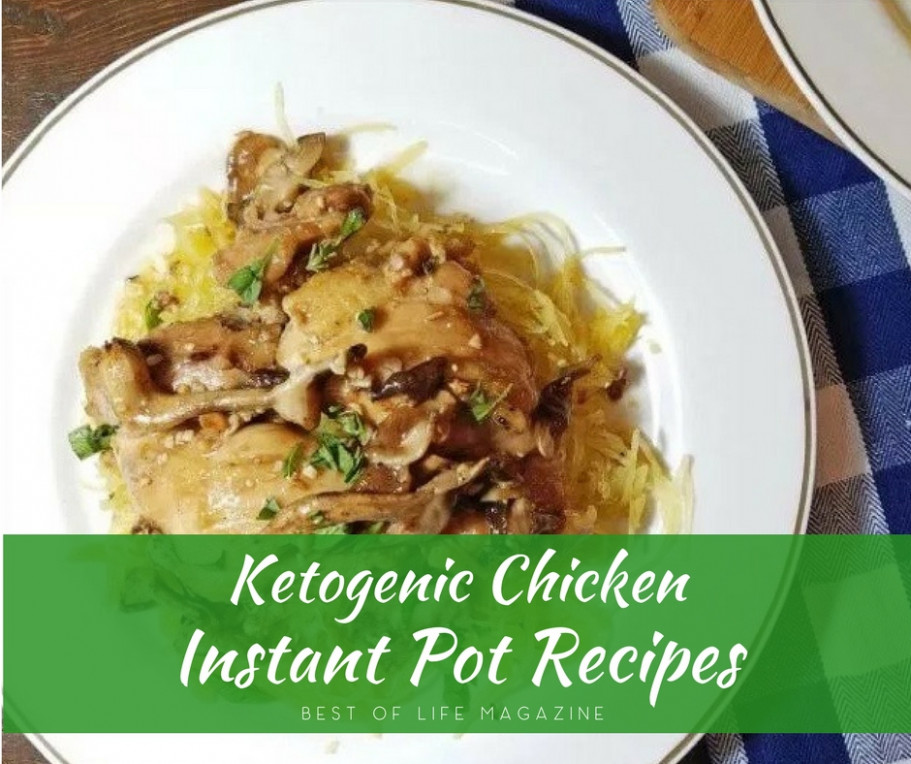 Instant Pot Keto Chicken Recipes Low Carb Recipes - Best ..