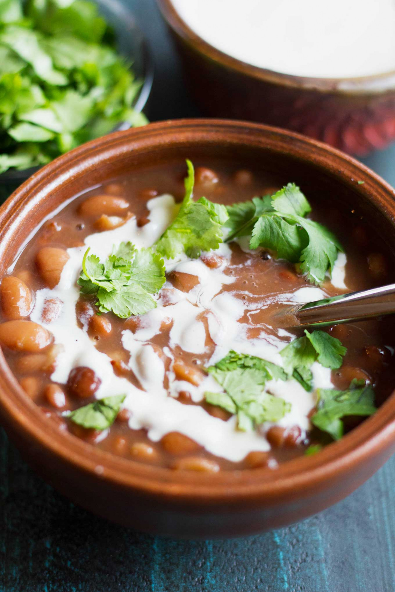Instant Pot Mexican Pinto Beans (Vegan) - Instant Pot Recipes Vegetarian