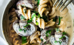 Instant Pot Mushroom Stroganoff – Vegetarian Recipes For The Instant Pot