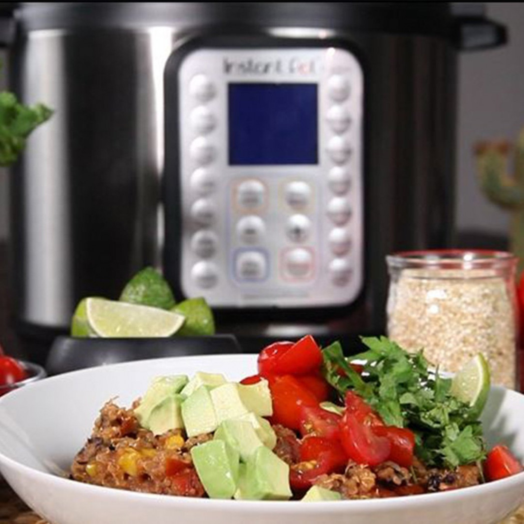 "Instant Pot On Twitter: ""Easy Quinoa Burrito Bowl - New Year .."