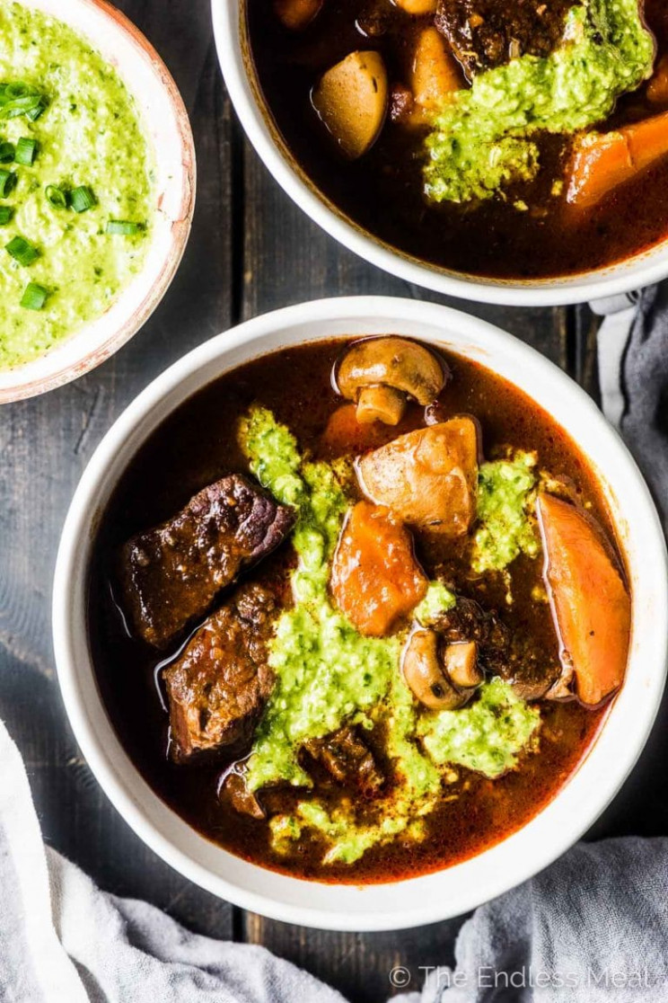 Instant Pot Paleo Beef Stew (Whole14) - recipes paleo dinner