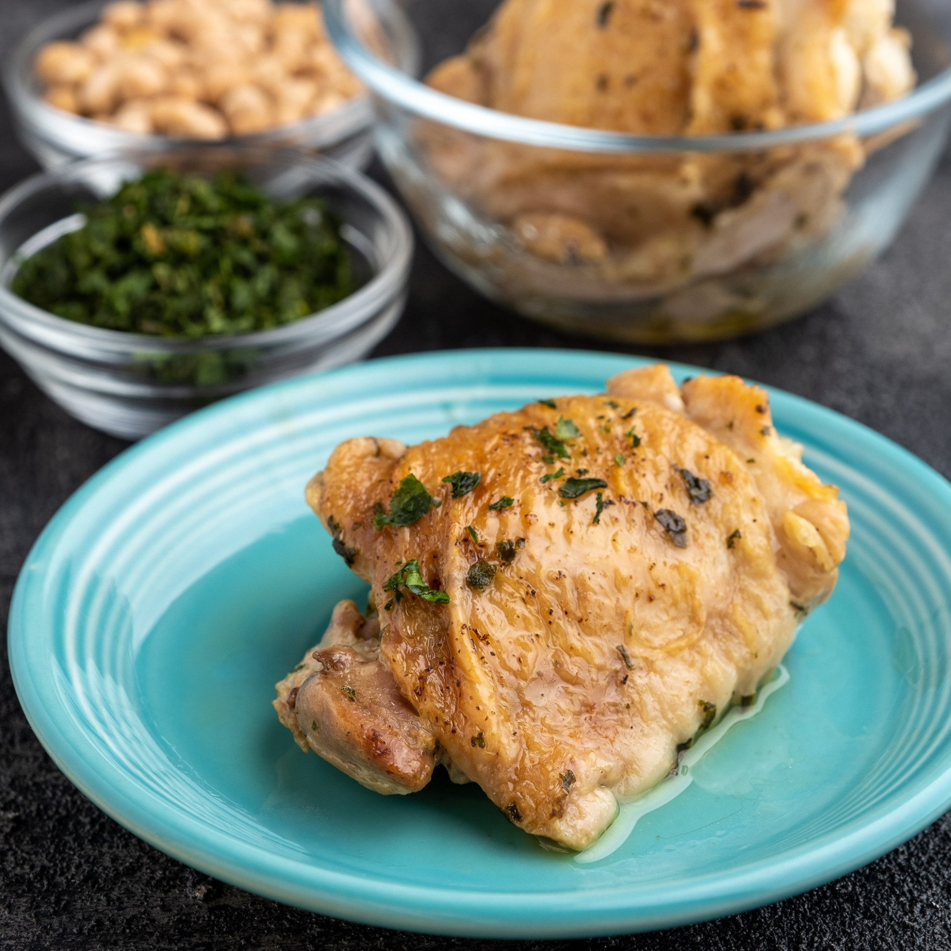 Instant Pot Quick Chicken Thighs - DadCooksDinner - Quick Instant Pot Recipes Chicken