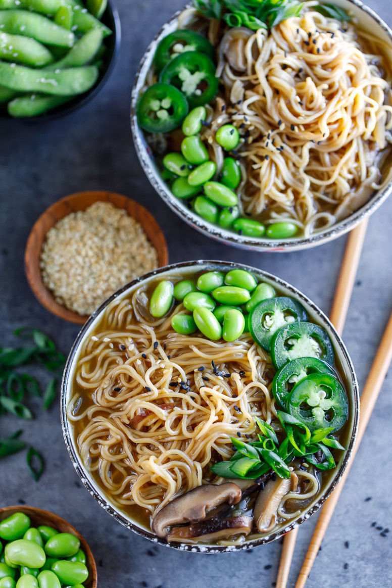 Instant Pot Ramen Bowls - Recipes Instant Pot Vegetarian