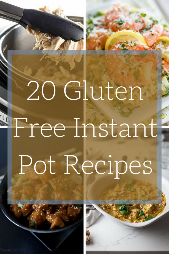 Instant Pot Recipes: 14 Quick Gluten Free Dinners ..