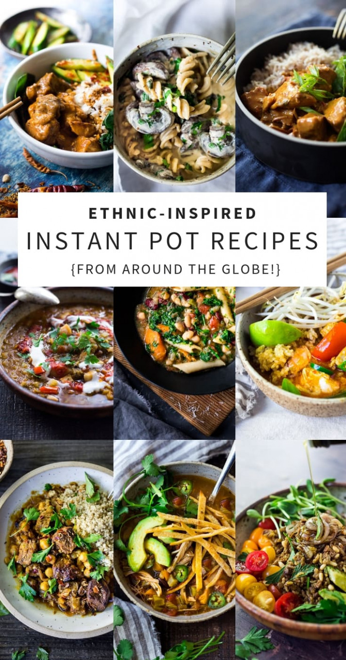 Instant Pot Recipes from Around the World - instant pot vegetarian recipes dinner