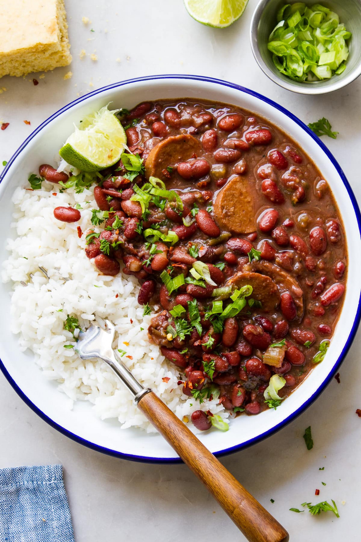 INSTANT POT RED BEAN AND RICE - vegetarian and rice recipes
