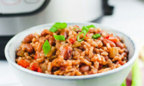 Instant Pot Red Beans And Rice (Vegan) – Cozy Peach Kitchen – Recipe Vegetarian Red Beans And Rice