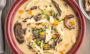 Instant Pot Rotisserie Chicken And Wild Rice Soup ..