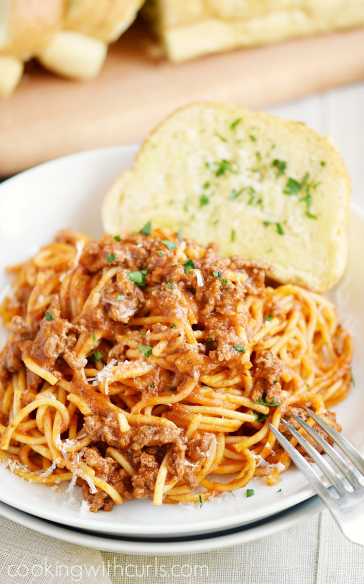 Instant Pot Spaghetti - recipes instant pot dinner